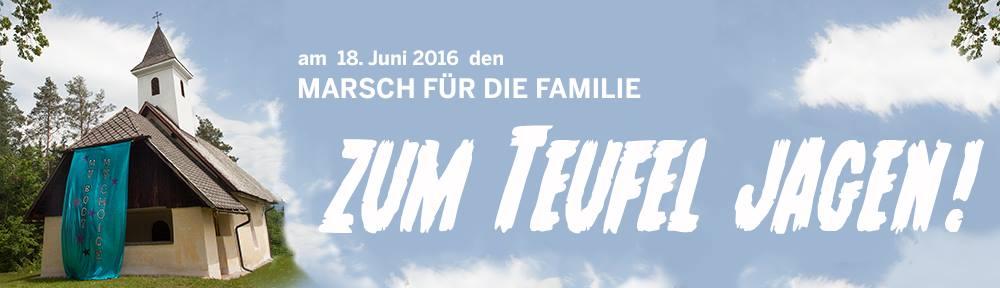 Bannerbild von FreedomNotFrontexVienna - Marsch für die Familie zum Teufel jagen!