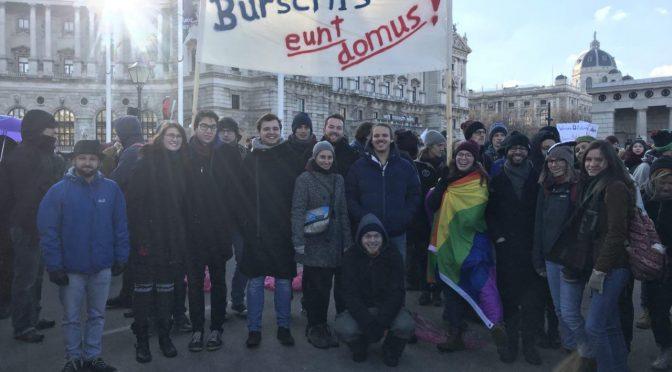 Demo: für Bildung für alle!