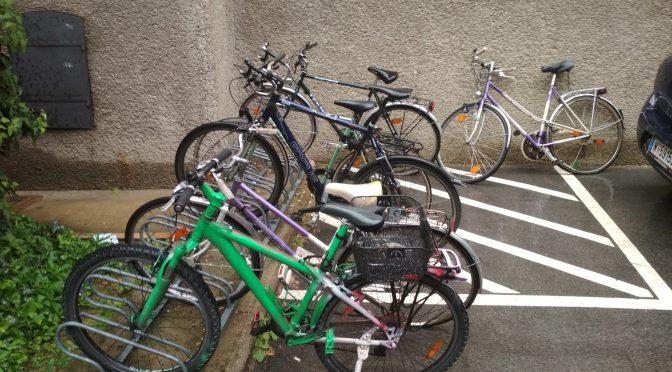 Bikes im Hof