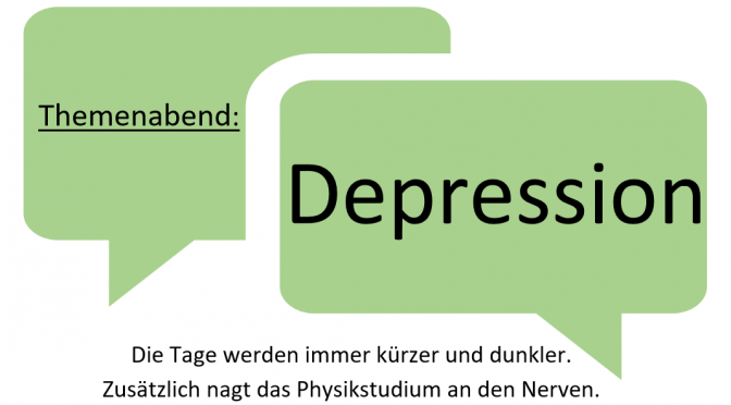 Themenabend: Depression